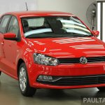 VW Polo facelift front from Malaysia preview
