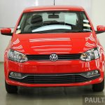 VW Polo facelift front view from Malaysia preview