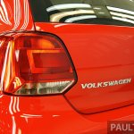 VW Polo facelift taillamp from Malaysia preview