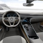 VW Sport Coupe Concept GTE dashboard