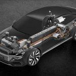 Volkswagen Sport Coup Concept GTE drivetrain