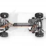 VW Sport Coupe Concept GTE front and rear axle
