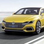 Volkswagen Sport Coup Concept GTE front three quarters