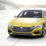 VW Sport Coupe Concept GTE front