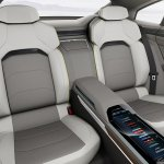 Volkswagen Sport Coupe Concept GTE rear seats