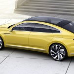 VW Sport Coupe Concept GTE rear three quarters right