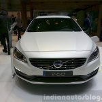 Volvo V60 D5 plug-in hybrid special edition front at the 2015 Geneva Motor Show