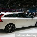 Volvo V60 D5 plug-in hybrid special edition side at the 2015 Geneva Motor Show