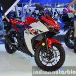 Yamaha YZF-R3 front quarter at 2015 Bangkok Motor Show