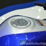 Yamaha YZF-R3 fuel lid at 2015 Bangkok Motor Show