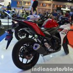 Yamaha YZF-R3 rear quarter at 2015 Bangkok Motor Show