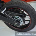 Yamaha YZF-R3 rear wheel at 2015 Bangkok Motor Show