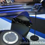 Yamaha YZF-R3 shape of seat at 2015 Bangkok Motor Show