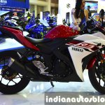 Yamaha YZF-R3 side at 2015 Bangkok Motor Show