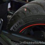 Yamaha YZF-R3 tyre at 2015 Bangkok Motor Show