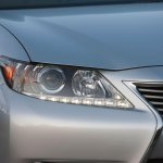 2013 Lexus ES headlamp and foglamp press image