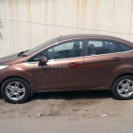 2014 Ford Fiesta AT spied