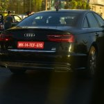 2015 Audi A6 facelift rear India spied