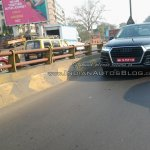 2015 Audi Q7 headlight IAB spied India