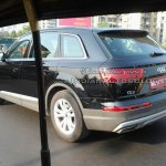2015 Audi Q7 rear quarter IAB spied India