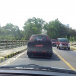 2015 Chevrolet Trailblazer rear angle spied testing Trivandrum