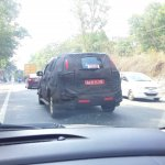 2015 Chevrolet Trailblazer rear spied testing Trivandrum