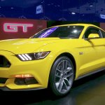 2015 Ford Mustang Coupe at the 2015 Seoul Motor Show