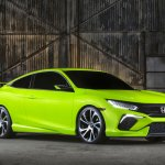 2015 Honda Civic Concept official image front three quarter