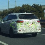 2015 Honda Fit Shuttle rear spied