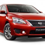 2015 Nissan Pulsar SSS sedan front press image