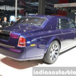 2015 Rolls Royce Phantom Limelight Collection rear quarter at the Auto Shanghai 2015