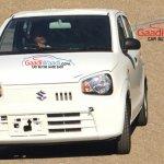 2015 Suzuki Alto front India spied