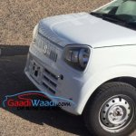2015 Suzuki Alto headlight India spied