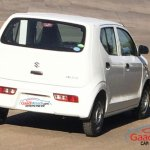 2015 Suzuki Alto rear India spied