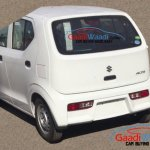 2015 Suzuki Alto rear end India spied