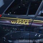 2015 Suzuki Grand Vitara Limited badging at the Auto Shanghai 2015