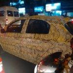 2015 Tata Kite left side spyshot