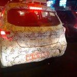 2015 Tata Kite rear spyshot