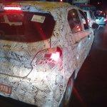 2015 Tata Kite rear three quarter spyshot