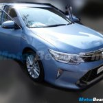 2015 Toyota Camry facelift India spied