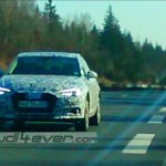 2016 Audi A4 front test mule spotted