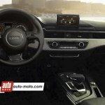 2016 Audi A4 interior rendering