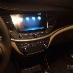 2016 Buick Verano dashboard spyshot