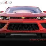2016 Chevrolet Camaro front rendering