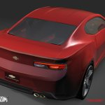 2016 Chevrolet Camaro rear rendering