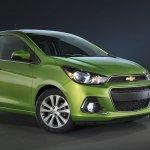 2016 Chevrolet Spark front quarter