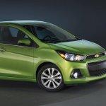 2016 Chevrolet Spark front quarters