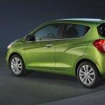 2016 Chevrolet Spark rear quarter