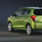 2016 Chevrolet Spark rear quarters