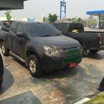 2016 Isuzu D-Max (Facelift) spied in Thailand